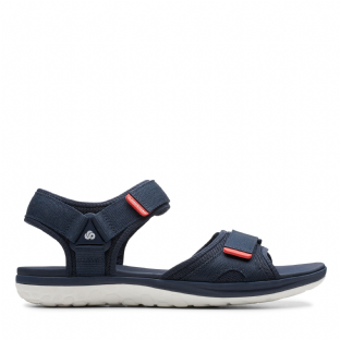Clarks Mens Step Beat Sun Navy Sandals